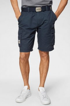 man's world cargobermuda blauw