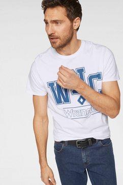 wrangler t-shirt wit