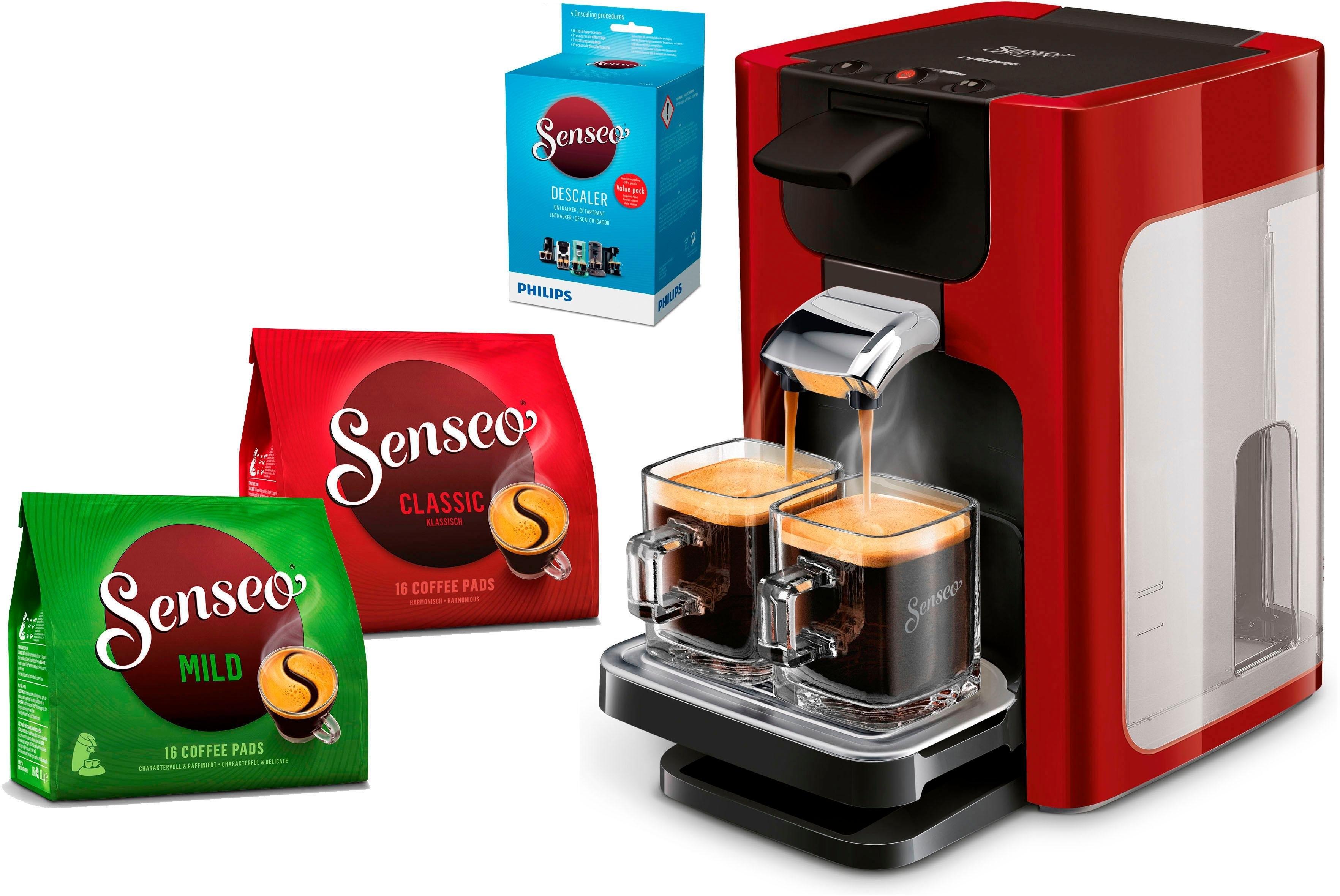 Senseo ®-koffiepadautomaat HD7865/00 Quadrante, met Coffee Boost, XL waterreservoir, wit voordelig en veilig online kopen