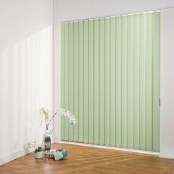 lamellen, »lamellengordijn verticaal perlex - 127 mm lamelle«, liedeco, vrijhangend groen