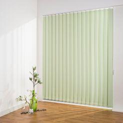 lamellen, »lamellengordijn verticaal verduistering - 127 mm«, liedeco, vrijhangend groen
