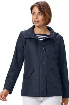classic basics jas in moderne look blauw