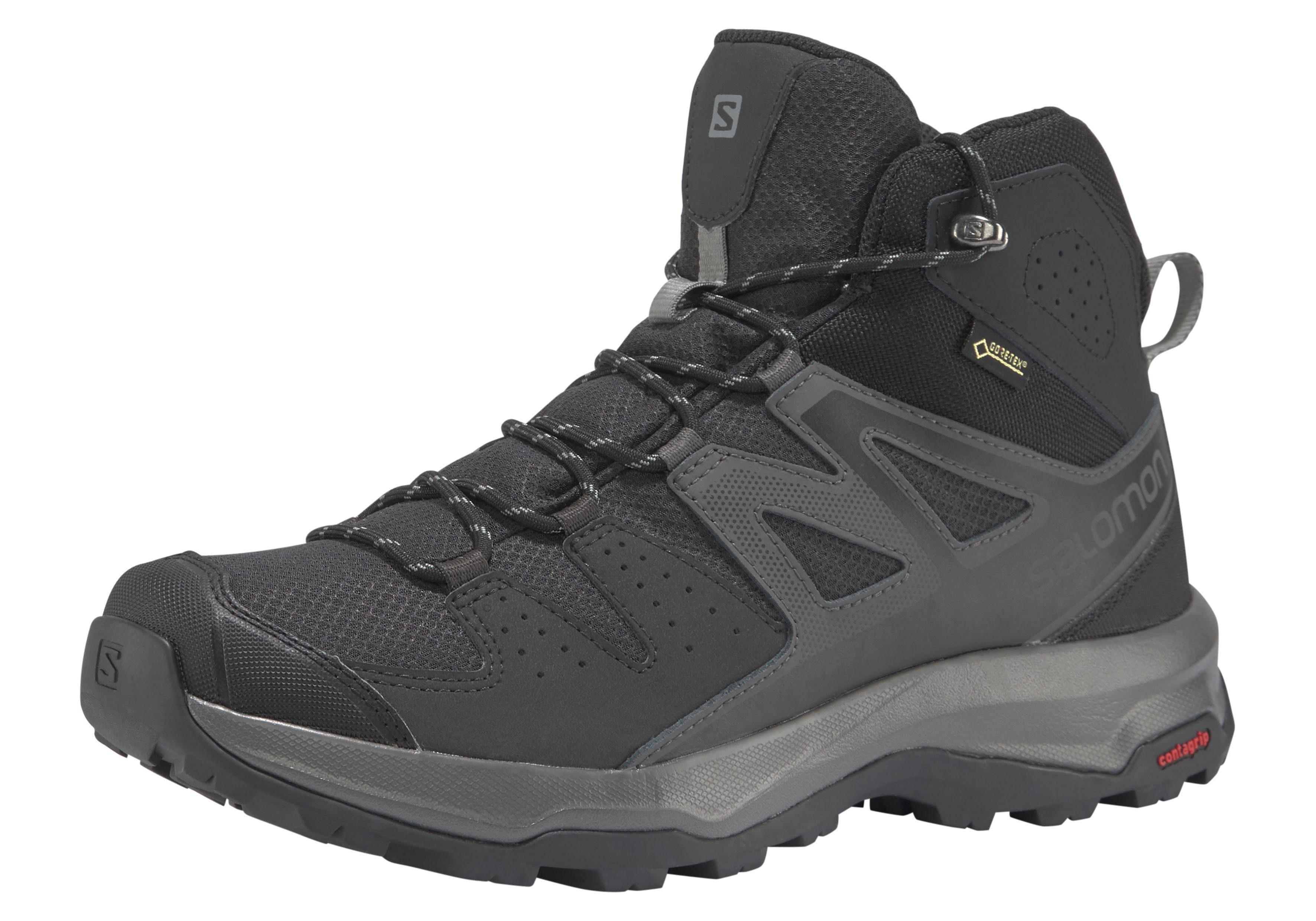 Salomon Mens Gore Tex Contagrip Hiking Trail Boots