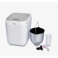panasonic broodbakmachine sd-zp2000wxe, 18 programma's, 700 watt wit