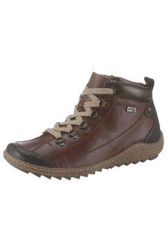 remonte hoge veterschoenen bruin