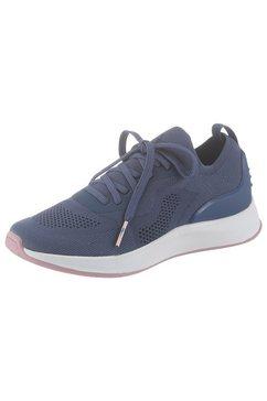 tamaris slip-onsneakers »fashletics« blauw