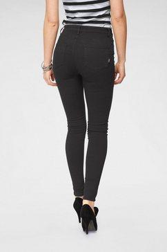 arizona skinny fit jeans »ultra stretch« schwarz