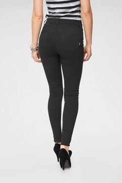 arizona skinny fit jeans »ultra stretch« zwart