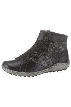 remonte hoge veterschoenen zwart