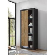 places of style bergkast »tamara« deur links grijs