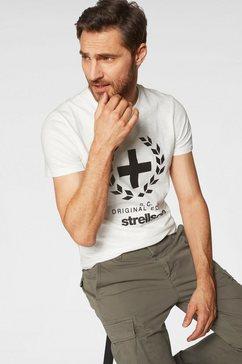 strellson t-shirt »fellsmere« wit