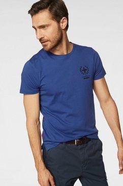 strellson t-shirt »deland« blauw