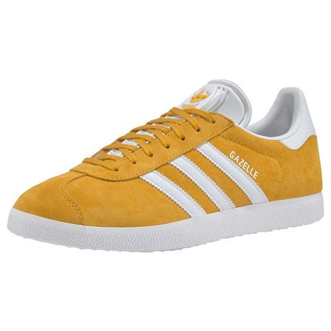 adidas originals Gazelle sneakers geel-wit
