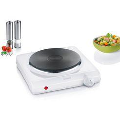 severin »kp 1091« enkele kookplaat wit