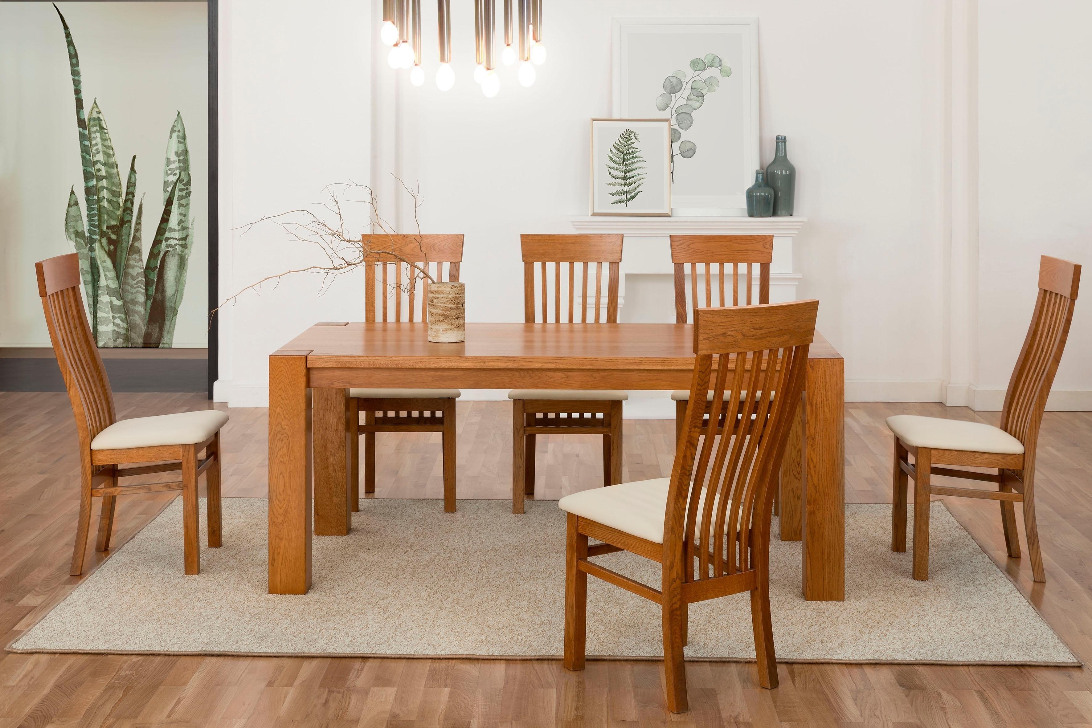 Premium collection by Home affaire stoel AMORE van massief wildeiken (set van 2) online kopen op otto.nl