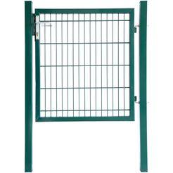 home deluxe enkele poortdeur groen