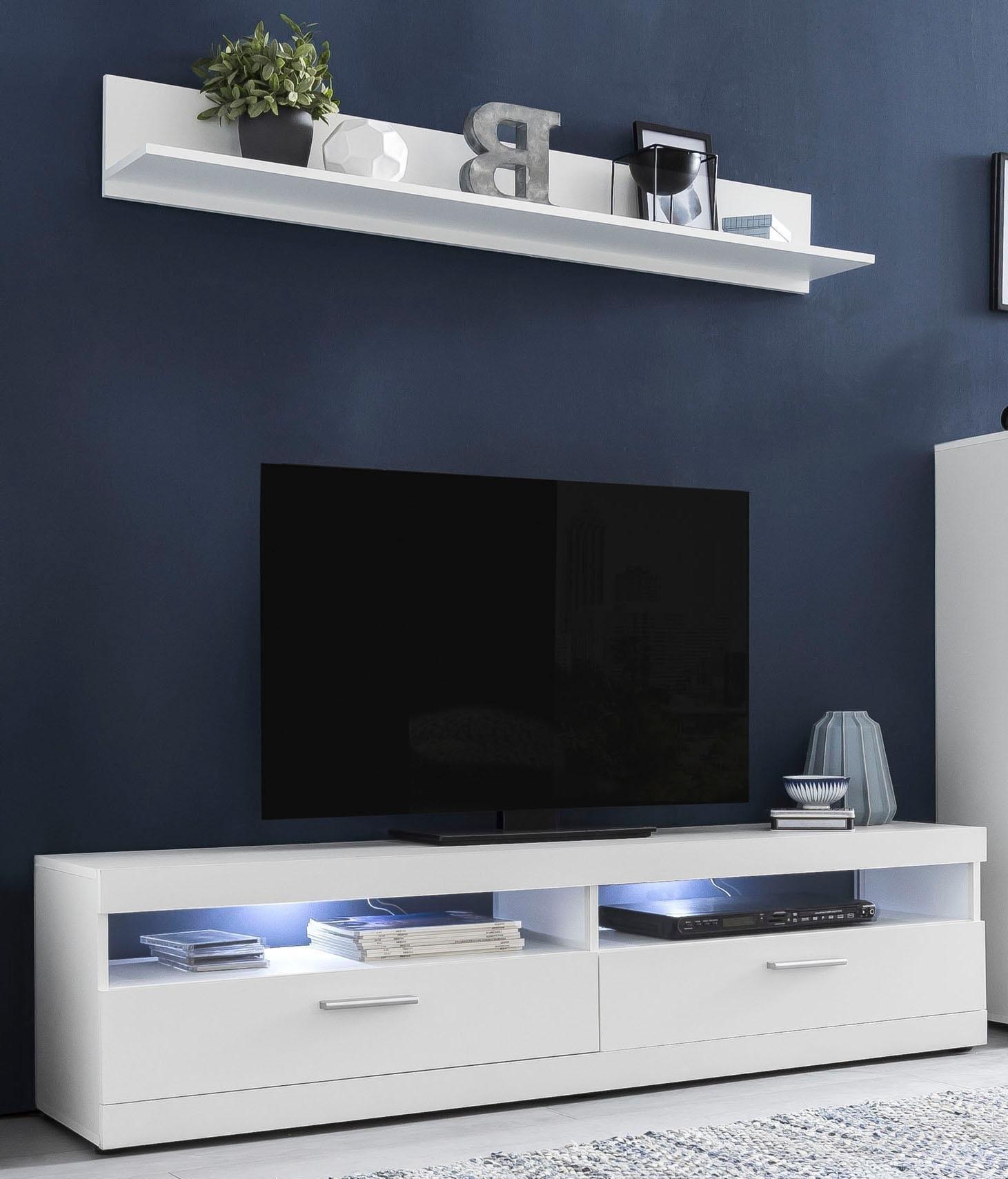 Wilmes tv-meubel Move Breedte 160 cm, inclusief gratis wandrek, breedte 135 cm in de webshop van OTTO kopen
