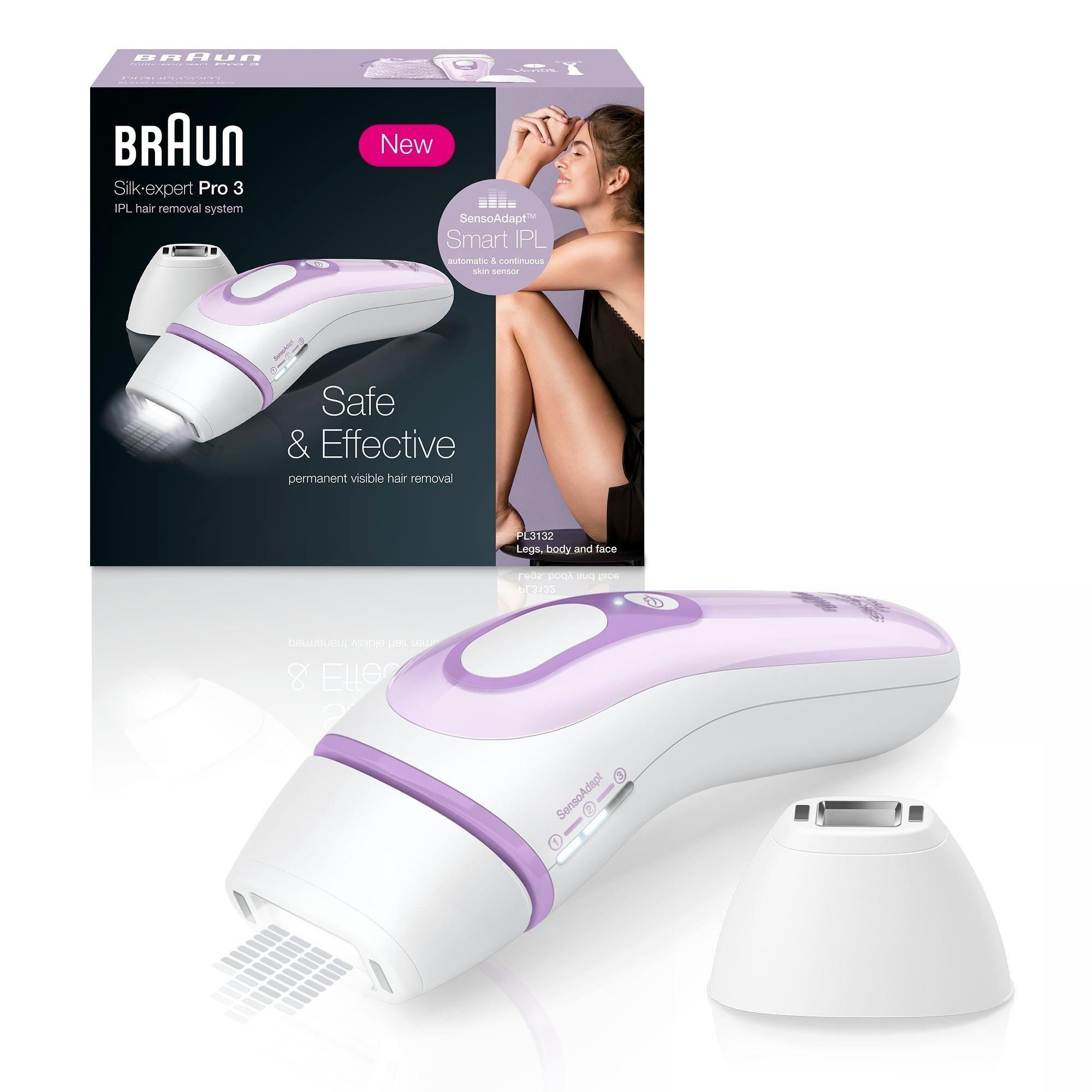 Braun IPL-ontharingsapparaat Silk·Expert Pro 3 PL3132, 300.000 lichtpulsen - gratis ruilen op otto.nl