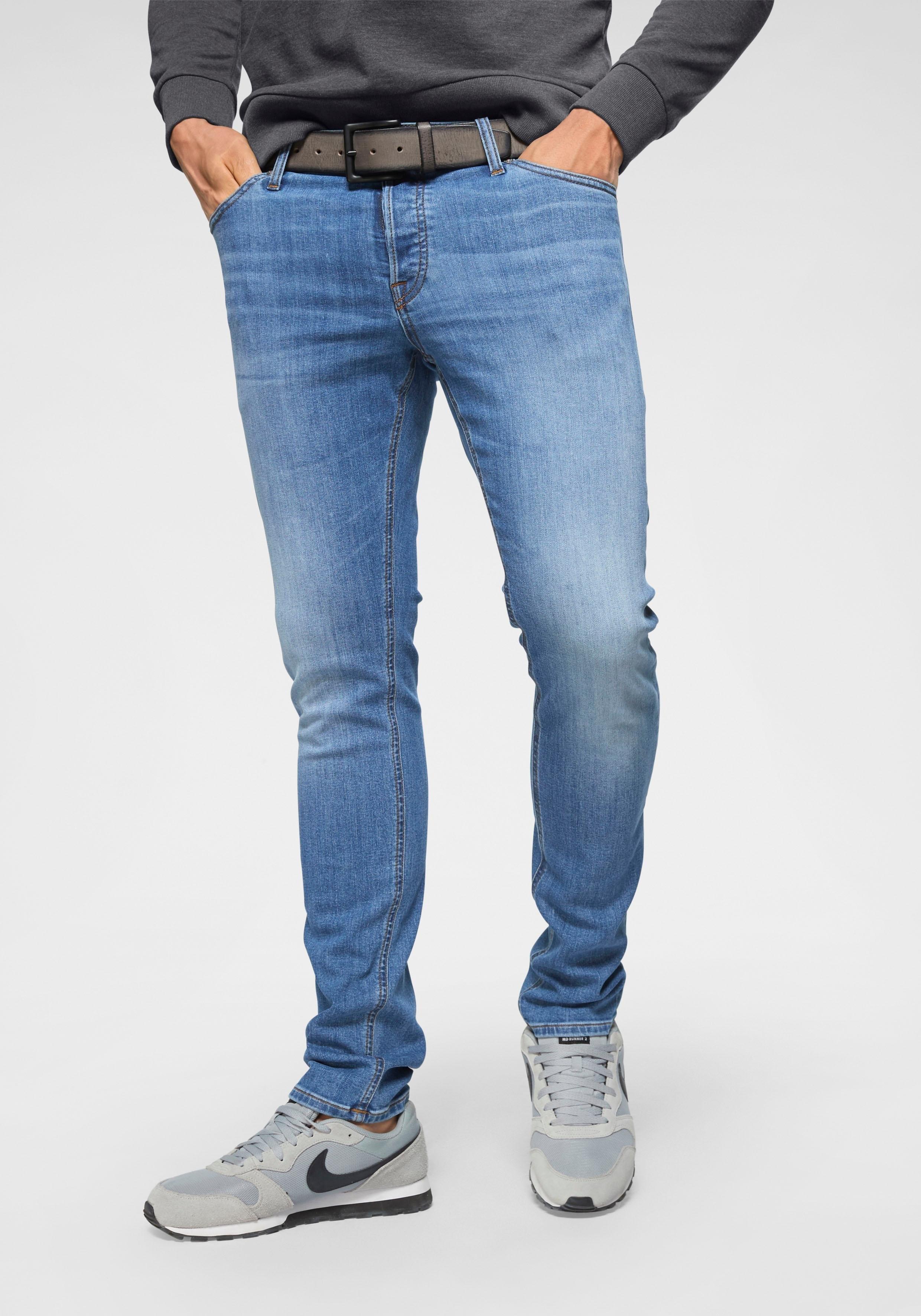 Jack & Jones slim fit jeans »Glen« in de webshop van OTTO kopen