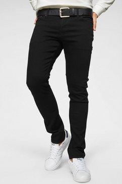 jack  jones slim fit jeans »glen« zwart