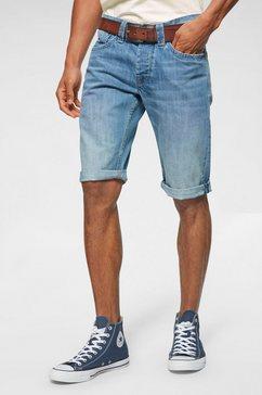 pepe jeans jeansshort »cash short« blauw