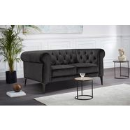 premium collection by home affaire chesterfield-sofa »tobol« grijs