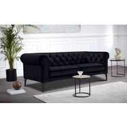 premium collection by home affaire chesterfield-sofa »tobol« blauw
