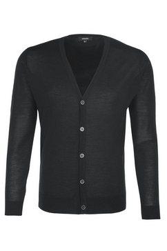 seidensticker vest zwarte roos cardigan uni grijs