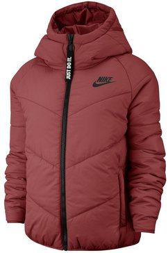 nike sportswear winterjas »w nsw wr syn fill jkt hd« rood