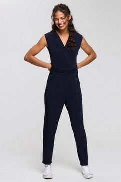 esprit collection jumpsuit blauw