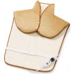 promed verwarmingskussen voor de nek en rug nrp-5.4 knus bruin