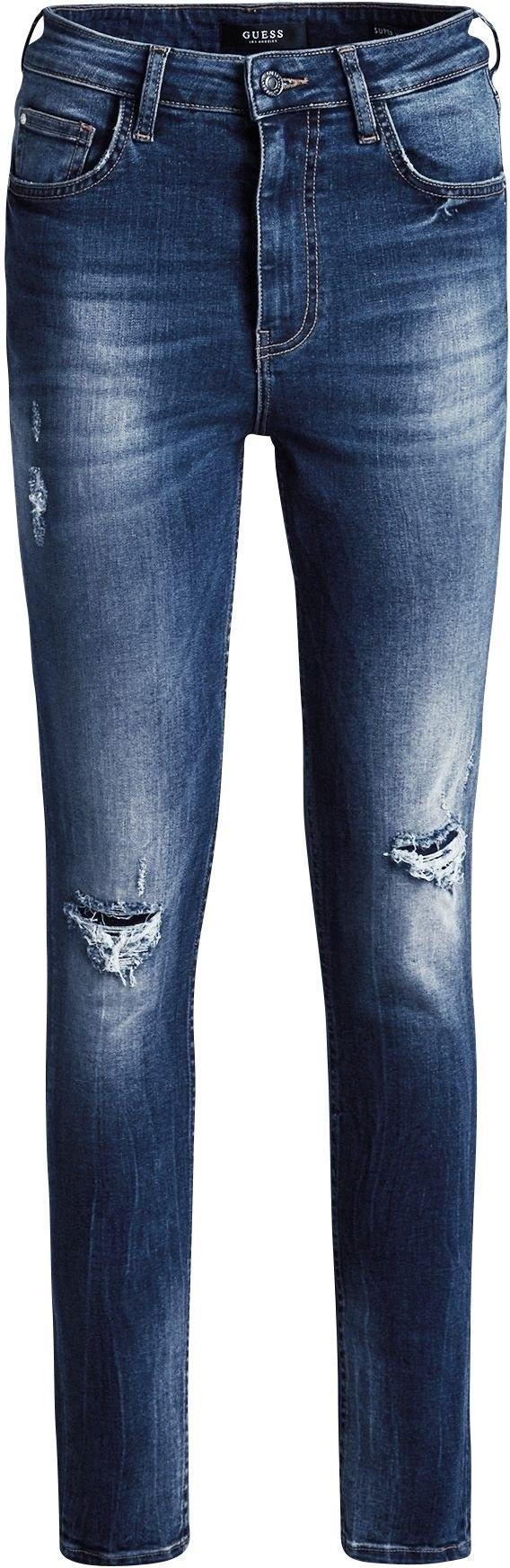 Online Kopen Waist Nu Guess Jeans High vnm8wPyN0O