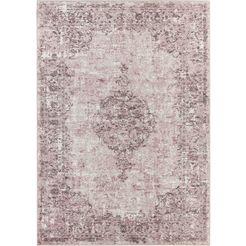 vloerkleed, »vertou«, elle decor, rechthoekig, hoogte 4 mm, machinaal geweven roze