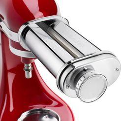 kitchenaid pastaroller 5ksmpsa, accessoire voor alle kitchenaid-keukenmachines zilver