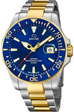 jaguar zwitsers horloge »executive, j863-c« zilver