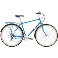 breezer bikes »downtown ex« urban bike blauw