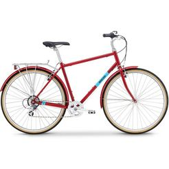 breezer bikes »downtown ex« urban bike rood