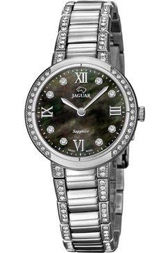 jaguar zwitsers horloge »cosmopolition, j826-2« zilver