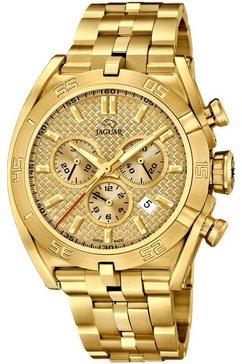 jaguar chronograaf executive, j853-2 goud