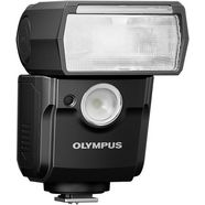olympus »fl-700wr« flitser zwart