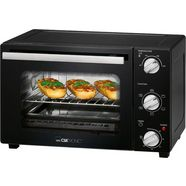 clatronic »mbg 3726« mini-oven zwart