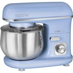clatronic »km 3711 blau« keukenmachine blauw