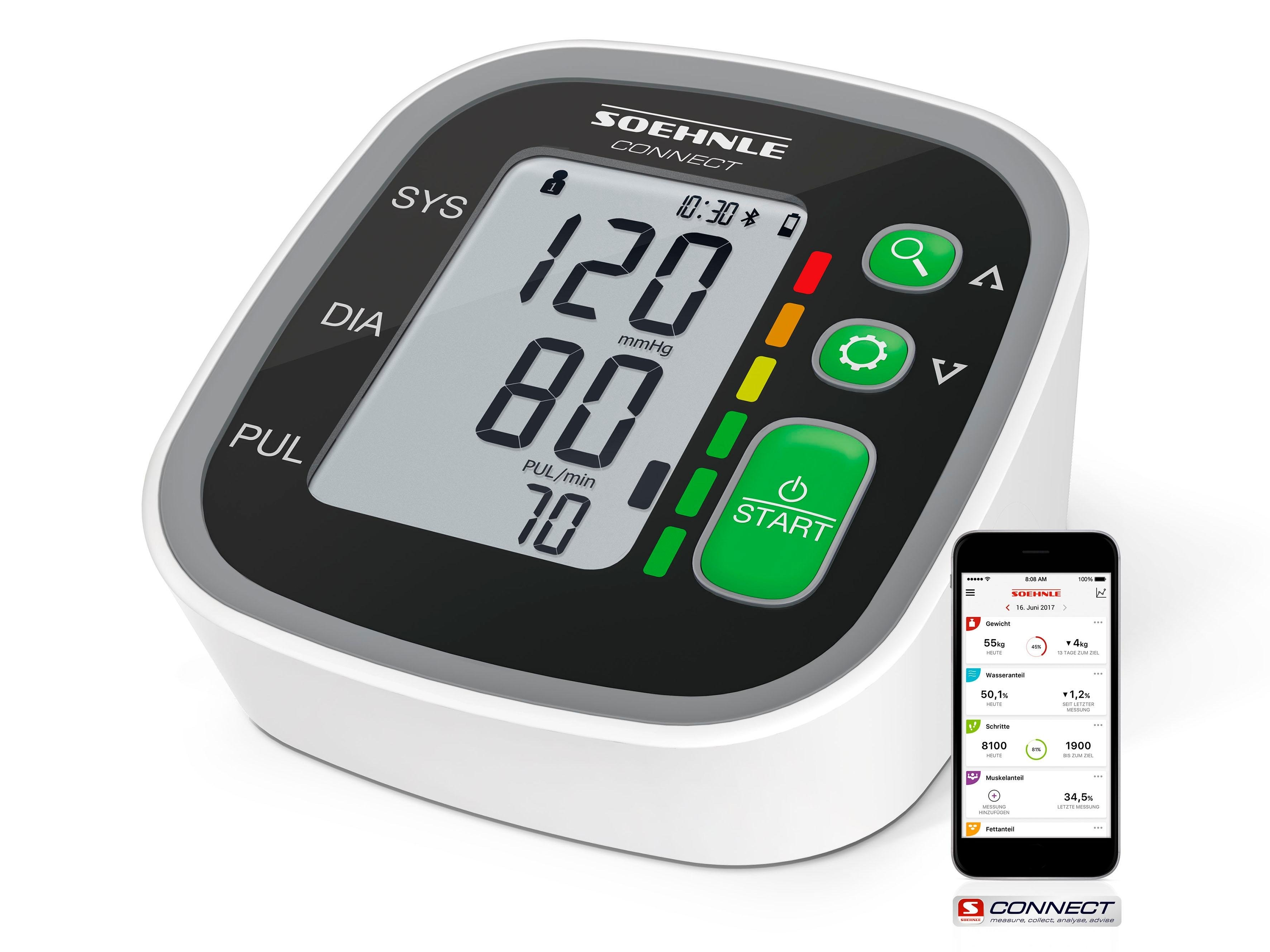 Soehnle bovenarm-bloeddrukmeter Systo Monitor Connect 300 nu online bestellen