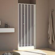nisdeur »met klapdeur«, douchedeur met verstelbereik van 80 - 100 cm wit