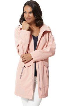 casual looks softshell-jack met modellerende naden roze
