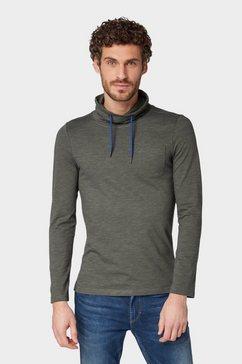 tom tailor shirt met lange mouwen »shirt met lange mouwen en turtleneck« groen
