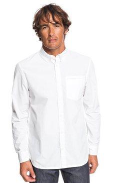 quiksilver - ostalamer - overhemd met lange mouwen voor heren wit