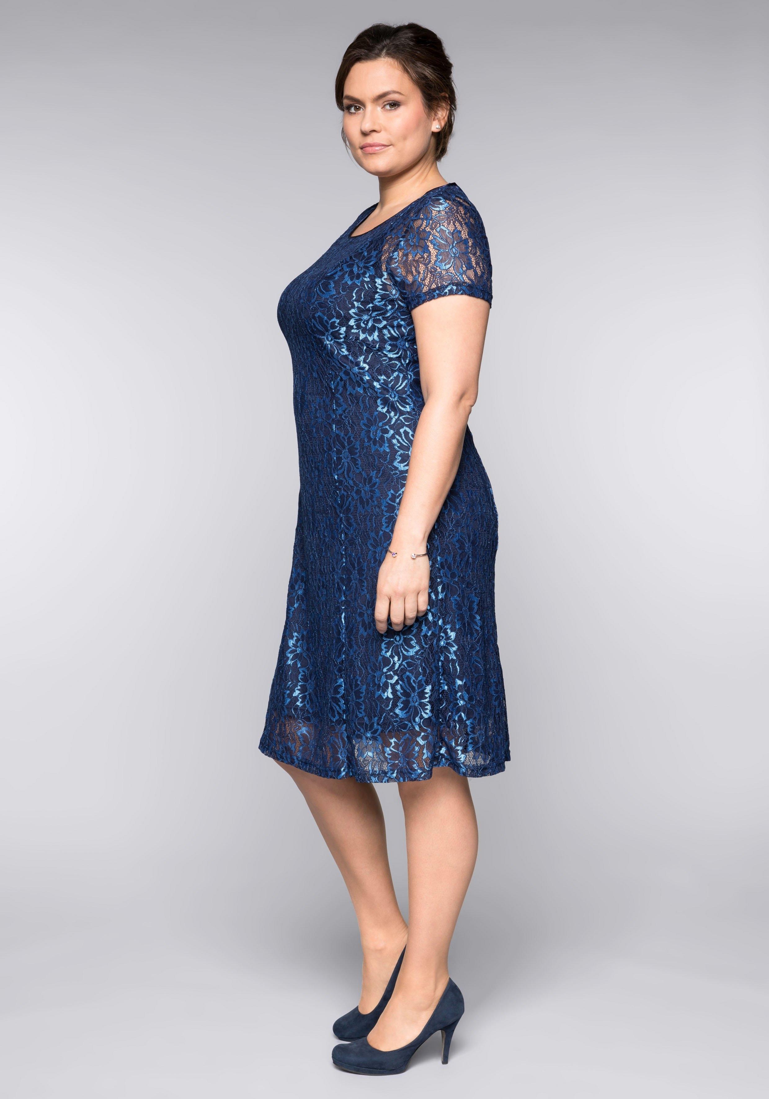 Wonderbaar Sheego kanten jurk makkelijk besteld   OTTO BJ-65