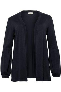 sheego casual vest zwart
