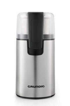 grundig »cm 4760« koffiemolen zilver